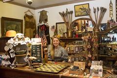 The Lovely Shopkeeper (fishmonger45) Tags: photoshop old west saddlery