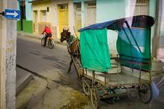 Cuba. Bus Window Shot (5) (H.L.Tam) Tags: documentary cubasketchbook cuban street photodocumentary cuba cyclingincuba cubanbicycle streetphotography sketchbook horsewagon panasonic gm5 buswindowshot
