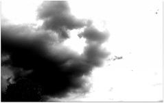 (Riik@mctr) Tags: abstract cloud sky nokia n95 cell fone phone black white monochrome blackandwhite