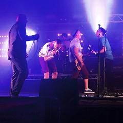 Bubounce in full flow (carolinegiles1) Tags: banter performers bands summer livemusic norfolk whitenoise band actionshot skamusic festival music gig