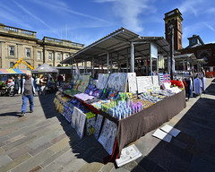 Around the corner (JEFF CARR IMAGES) Tags: northwestengland marketday d200 wideangle flickrfriday market