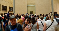 Your Mona Lisa Experience (tokyobogue) Tags: paris louvre france museedulouvre museum art gallery monalisa crowd crazy leonardodavinci davinci nikon d7100 nikond7100