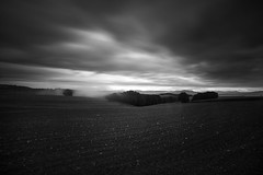 Skyfall (Maximecreative) Tags: select mist trees landscape lake forest mountains stones clouds cloudscape twilight motion rocks fields countryside woods darkness longexposure rural silhouettes wideangle lowlight samyang f28 leefilters 14mm romandie switzerland