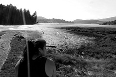 Waters Edge (mvnguyen) Tags: nature water landscape blackwhite rockypoint bc