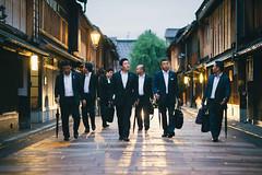 Kanazawa (Alex Robertson) Tags: kanazawa  japan candid oldtown suits japanese men businessmen salaryman