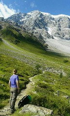 Sotto l'Ortles (Riccardo Tognini -Guida Ambientale Escursionistica) Tags: erica mountains ortles solda trekking hiking ghiacciaio glacier