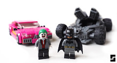 Lego DCEU Batmobile and Joker Car (Simple1DEA) Tags: batman v superman dceu joker batmobile car vehicle lego dc comics superhero superheroes batfleck suicide squad