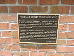 COURTHOUSE BELL (SneakinDeacon) Tags: courthouse bell swva bland kayecompany