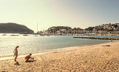SCO5958 (ScottD Photography) Tags: hot sun sea coast mallorca port de sller spain balearic islands beach nikon d800