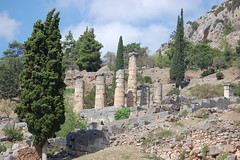 The Oracle at Delphi (gilmorem76) Tags: greece travel tourism delphi delfi oracle ancient temple architecture