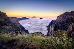 Atardecer sobre las nubes (Javier Martnez Morn) Tags: timelapse time lapse video la palma lapalma nikon d7000 nubes clouds sea mar de sky cielo sunset atardecer