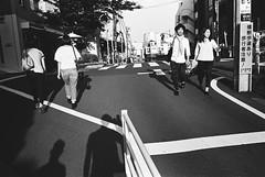 Daikanyama, Tokyo (fabiolug) Tags: shadow shadows self selfportrait lines sunset daikanyama people street streetphotography tokyo japan japanese asia leicamp leica mp rangefinder film filmphotography believeinfilm blackandwhite blackwhite bw kodaktrix400 trix400 kodak trix kodaktrix leicaelmarit28mmf28asph elmarit28mmf28asph elmarit28mm leicaelmarit28mm 28mm elmarit leicaelmarit wide wideangle hat