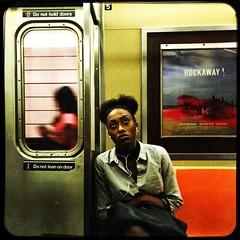 Cassandrea (ShelSerkin) Tags: shotoniphone hipstamatic iphone iphoneography squareformat mobilephotography streetphotography candid portrait street nyc newyork newyorkcity gothamist