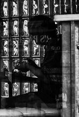 (daveson47) Tags: bw blackandwhite mono monochrome people candid silhouette street streetphoto ricoh ricohgrd grd window streetphotography minneapolis