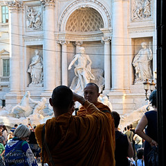 Roman holiday 2016 (Mike Snell Photography) Tags: fountain rome italy saintsvincentandanastasiuschurch church architecture water trevifountain monks doorway
