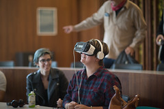 bc_VRbryn_brieedellarocca-2 (Bennington College) Tags: benningtoncollege alumnifamilyweekend virtual reality virtualreality ryot