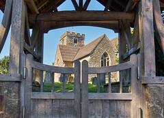 Through the Lytch Gate (Tim Ravenscroft) Tags: brasted stmartins church lytch gate kent uk architecture