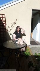 Sept 2016 (emilyproudley) Tags: crossdresser cd tv tvchix tranny trans transvestite transsexual tgirl tgirls convincing dress feminine girly cute pretty sexy transgender glasses xdresser highheels gurl hosiery tights outdoor beautysalon