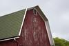Red Barn, Green Roof (marylea) Tags: red barn rural 2016 sep8 farm sugarloaffarm