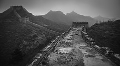 The First Line Of Defense (Baron Reznik) Tags: asia asien bw beijing blackwhite builtstructure canon28300mmf3556lisusm china culture defensivewall educational empiredumilieu exploration explore fortification greatwall greatwallofchina historic horizontal lorganisationdesnationsuniespourlducation landscape mainlandchina miyuncounty monochrome mynxin onusc prc peking peoplesrepublicofchina reichdermitte scientificandculturalorganization simataigreatwall sino structure smti un unesco unescoworldheritagesite unitednations wall wideangle worldculturalheritage worldheritagesite zhongguo zhonghua zhnghurnmngnghgu
