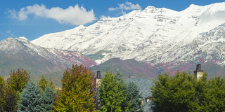 Fall Colors and First Snowfall on Timpanogos [Explore]