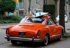 1973 Volkswagen Karmann Ghia (Dirk A.) Tags: sidecode3 importkenteken 07yd93 1973 volkswagen karmann ghia