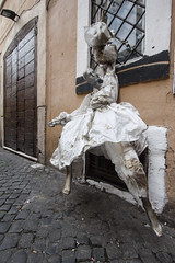Campo de' Fiori (new folder) Tags: italy sculpture rome roma campodefiori carrierbag
