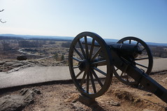 """Cannon at Gettysburg • <a style=""""font-size:0.8em;"""" href=""""http://www.flickr.com/photos/94329335@N00/8620497096/"""" target=""""_blank"""">View on Flickr</a>"""