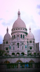 Basilica of the Sacred Heart of Paris (eagle1effi) Tags: paris dawn basilica montmartre sacre aviary dmmerung enhanced edit cur may2008 eagle1effi ishotcc