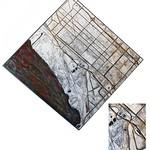 "<b>Gary, 2011</b><br/> (Benincasa, Encaustic, rust, oil paint, cement, wood on sheet metal)<a href=""http://farm9.static.flickr.com/8400/8622626530_6830c717f3_o.jpg"" title=""High res"">∝</a>"