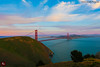 A Sunset at The Marin Headlands, Golden Gate Bridge - CA 2012 (www.35mmNegative.com(On a Break, Catchin) Tags: california travel bridge sunset tourism point landscape photography golden nikon gate san francisco postcard marin dramatic headlands vista sausalito sfbay mywinners hazarika www35mmnegativecom reetom