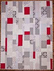 low volume (Elmosmate) Tags: modern quilt patchwork smallquilt freemotion lowvolume elizabethhartman lowvolumetiles