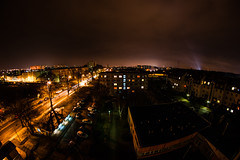 Szczecin at night (Rychu92) Tags: city fish eye night szczecin sonyalphadslra290 sonya290l