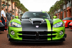 Snakeskin (Matthew C. Photography) Tags: streets green car 30 racecar america 35mm photography for 1 nikon matthew c rally celebration exotic american dodge acr f18 viper limited edition built v10 snakeskin units merica 2013 d3200