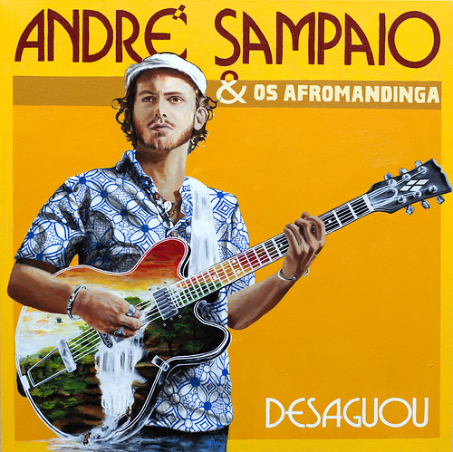 Album Cover Art, My Painting for Andre Sampaio & Os AfroMandinga