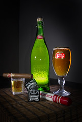 The Reward (D.J. De La Vega) Tags: life stella beer jack still y cigar romeo daniels whisky lighter julieta zippo larger artois wisky
