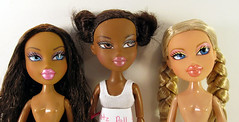 Repaint Stories: Bratz (nonaptime) Tags: ooak bratz repaint customdoll monsterhigh ghouliayelps rochellegoyle