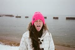 (beerandfilm) Tags: ca lake snow film 35mm skiing tahoe laketahoe contax heavenly boarding 2012 t2