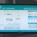 HSY Viikinmäki information radiator thumbnail