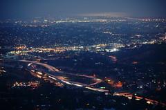 early commute on a moonlit morning (chris10eyck) Tags: city morning bridge night lights early twilight san mt view blues diego 94 vista helix coronado interchange 125 chris10eyck
