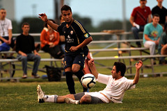 Austin Aztex vs University of Texas Club Soccer IV (GuillermoHdz) Tags: sports field sport club america ball austin photography football athletic athletics texas exercise soccer united running intramural longhorns fields pitch states athlete futbol andres tackle forward whitaker association cuero asociacion athleticism aztex