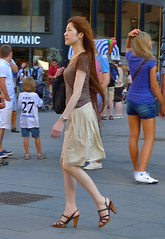 brown hair and heels (try...error) Tags: wien vienna leica dlux5 dlux 5 pretty woman female asian tourist girl naked skin high heels brown hair shaved legs long beauty sexy urban people downtown fashion vienne candid