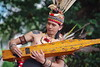Maestro in Action (flamewave_double_x) Tags: sape performer traditional borneo dayak tattoo guitar