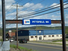 Goodbye Berkshires (mestes76) Tags: signs massachusetts trains amtrak berkshires pittsfield 051112