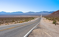 Rhyolite - Road to go to Death Valley (_GuillaumeL_) Tags: road trip usa beautiful landscape photography death amazing october photographie nevada go olympus 63 valley mm 12 guillaume 50 rhyolite paysage zuiko omd 2012 f35 em5 my guill leparmentier toug lepar mtoug