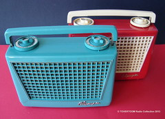 OLYMPIC Portable Tube Radios (USA 1954) (MarkAmsterdam) Tags: portable radio tableradio kitchenradio plastic plaskon metal tube tuberadio transistor transistorradio vintage electronics markamsterdam mark meijster markmeijster old collectible forties fifties sixties 40s 50s 60s handheld pocketradio design retro colorful coatradio fashioned early electrical equipment battery atomic eames era ad advertising sign advertisement carradio tv phonograph tovertoom collection dealer sheet folder brochure portfolio booklet engineering pickup console fernseher musiktruhe phono cartridge tsf magnetophon classic museum tape recorder deck catalog