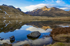 Lac Verney (fede_gen88) Tags: blue autumn sky italy mountain lake snow mountains alps nature water reflections lago rocks italia border pass lac explore mountainpass valledaosta valdaosta verney piccolosanbernardo aostavalley coldupetitsaintbernard platinumheartaward franceitalyborder colledelpiccolosanbernardo littlestbernard