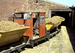 Cherry Orchard Brickworks Tipping Shed (Kingmoor Klickr) Tags: industrial railway gauge narrow rochford 8614 miltonhall hawkwell motorrail gordonedgar butterleybuildingmaterials cherryorchardbrickworks