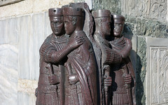 Tetrarchs, half length on edge