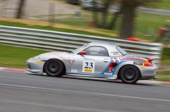 Porsche Club Championship Naked Flame Heating / Hartech Racing Porsche Boxster S (Stuart Ings) (GazHPhotography.co.uk) Tags: club championship s porsche boxster motorracing motorsport brandshatch sturatings